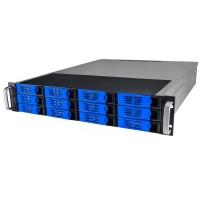 Серверный корпус 2U NR-R2012 400Вт 12xHot Swap SAS/SATA (ATX 10x12, 550mm),черный, Negorack